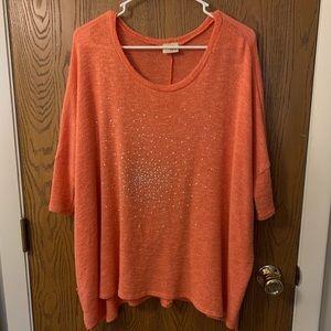 Daytrip short sleeved lightweight sweater